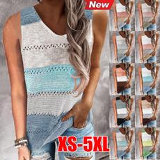 blouse, Summer, Vest, womens tank tops