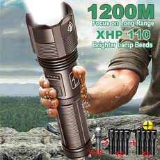 Flashlight, Batteries, ledtorch, waterprooflight