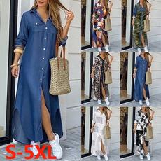 Summer, Мода, long dress, Spring