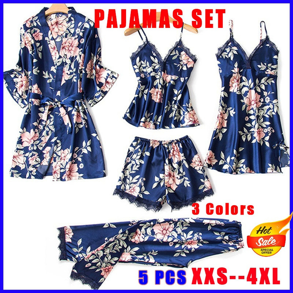 floralprintpajama, homewearset, Floral print, pajamassuitsforwomen