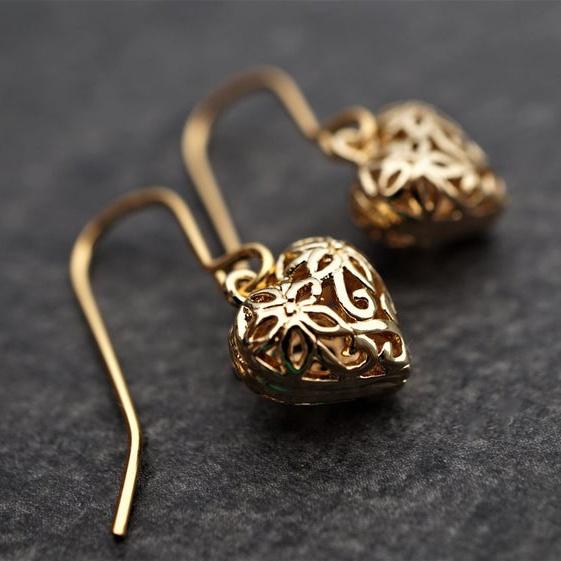 Heart, Dangle Earring, Jewelry, earringjewelry