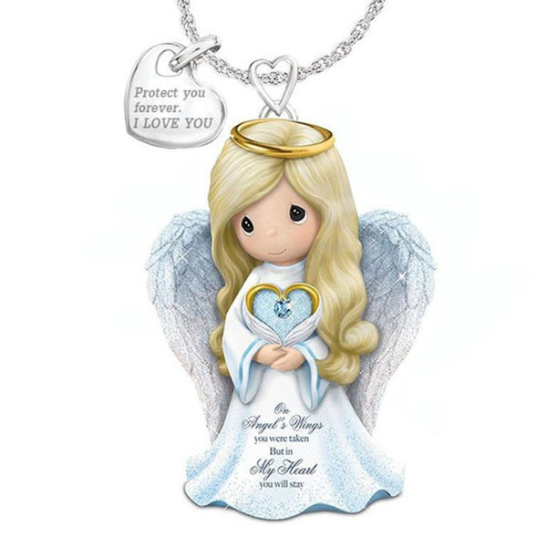 Sterling, wingnecklace, angelnecklace, Love