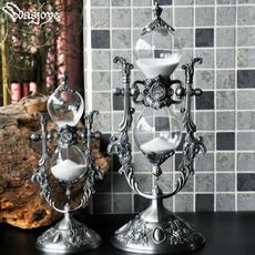 Home & Kitchen, metalhourglasstimer, Home Decor, glasshourglas