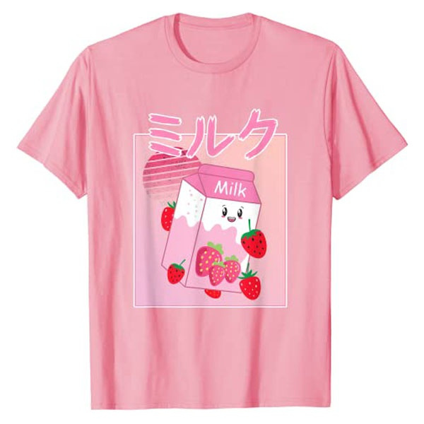 Kawaii, georgenotfoundlovershirt, Milk, kawaiitshirt