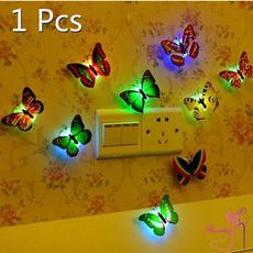 butterfly, cute, butterflywallsticker, led