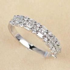 eternity, baguette, DIAMOND, wedding ring