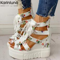 heightenedshoe, wedge, Sandals, Women Sandals