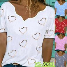Summer, Plus Size, Love, Shirt