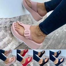 Summer, Flip Flops, Мода, Women Sandals
