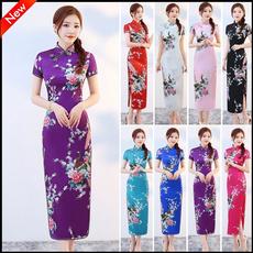 party, Fashion, Chinese, cheongsam