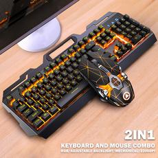 Mechanical, keyboardandmouseset, wiredkeyboard, usb