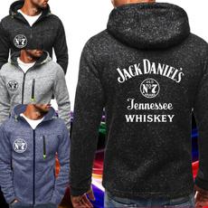 pockethoodie, printed, zipperjacket, Coat