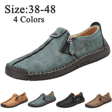 casual shoes, antiskid, Outdoor, leather shoes