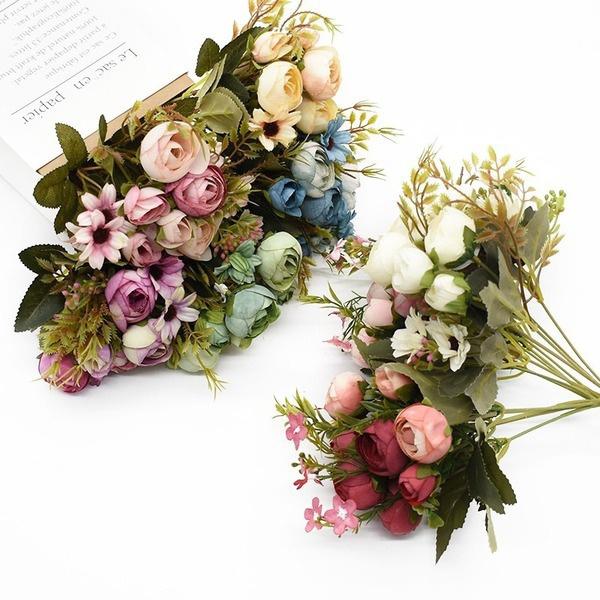 plasticflower, Home & Kitchen, Flowers, Home
