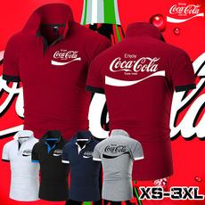 Summer, Fashion, Golf, Cotton T Shirt