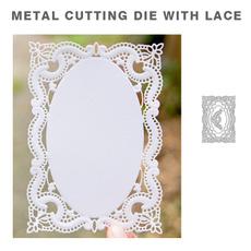 Decor, stencil, Scrapbooking, Lace