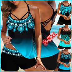 padded tankinis, Plus Size, Summer, swimsuits for women