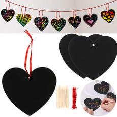 Card, Heart, kidsfavor, rainbow