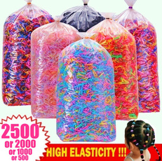 Rope, colorfulhairrope, Elastic, candy