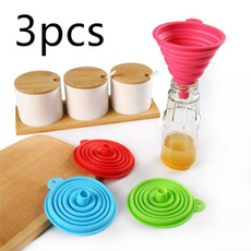 Mini, funnel, Outdoor, siliconecollapsiblefunnel