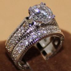 blackgoldfilled, Sterling, weddingengagementring, Jewelry