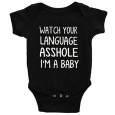 Funny, babyromperjumpsuit, Shorts, cottonromperforbaby