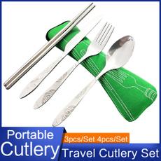 Forks, case, Picnic, Office