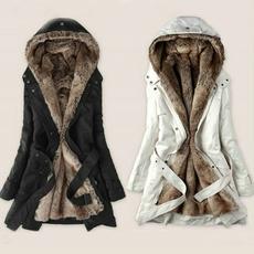 casual coat, fur coat, Plus Size, fur