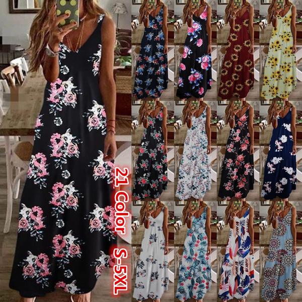 Summer, vacationdres, long dress, fashion dress