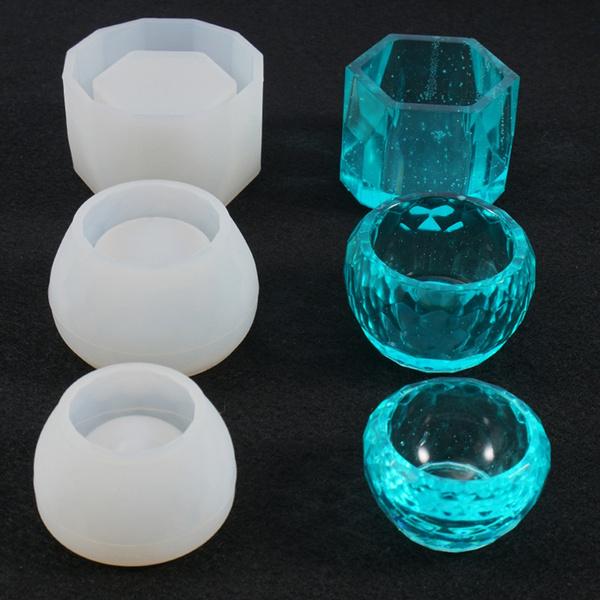 casting, Cup, epoxyresinmold, roundbowl