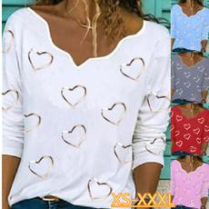 shirtsforwomen, strapless, Plus Size, Love