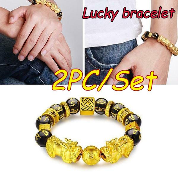 wealth, fengshuidecor, Bracelet, Fashion Accessories