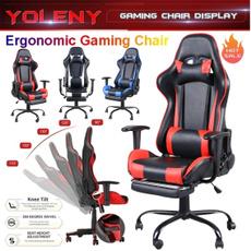 Pillows, swivel, ergonomicgamingchair, highbackchair