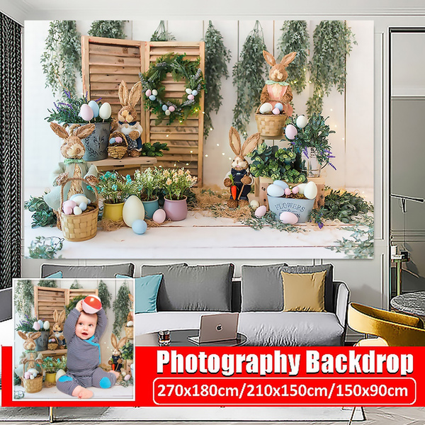 backgroundprop, Decor, Home & Living, easterbunnyphotography