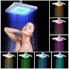 Bathroom, led, Home & Living, Shower Curtains