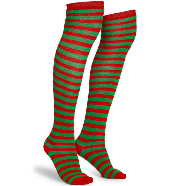 Cosplay, Socks, Elf, Green