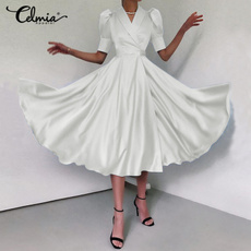 short sleeve dress, Cocktail, long dress, Evening Dress