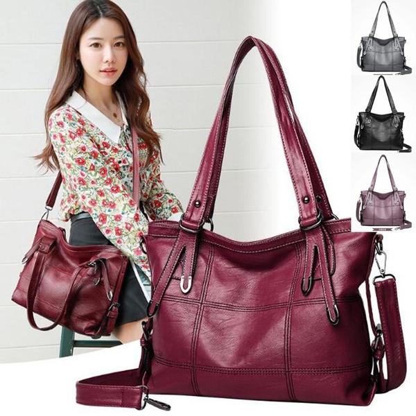 Shoulder Bags, Totes, Tote Bag, leather