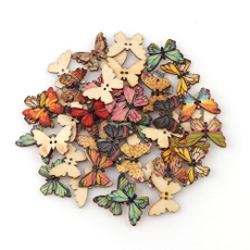 butterfly, Scrapbooking, Colorful, Wooden