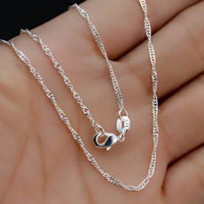 Sterling, Chain Necklace, Engagement, Jewelry
