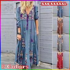 Fashion, Floral print, Sleeve, Long Sleeve