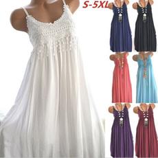 bohemia, Sleeveless dress, fashion women, Wool