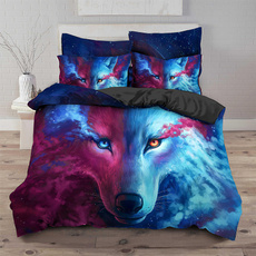 wolfbeddingset, Home Decor, Quilt, bettbezug