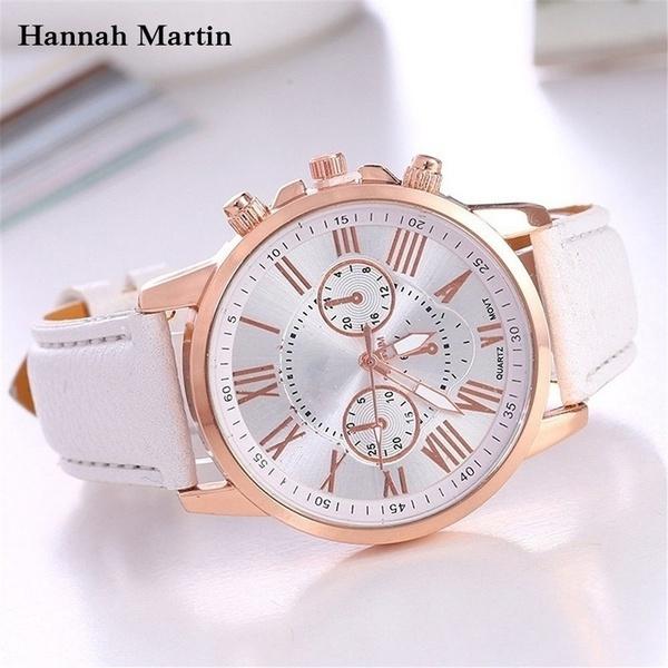 quartz, Casual Watches, Geneva, wristwatch