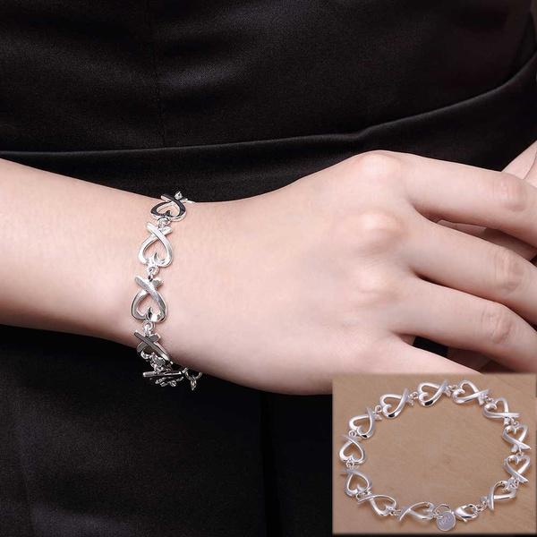 Sterling, Punk Bracelet, Fashion, Jewelry