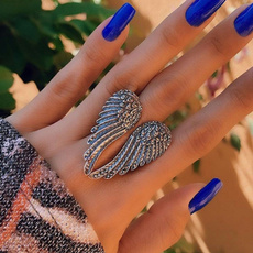 adjustablering, Fashion, Jewelry, Angel