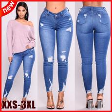 elastic waist, plus size jeans, Elastic, high waist jeans