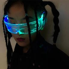 led, ledsunglasse, lightupglasse, cyberpunkledglasse