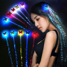 butterfly, wig, Fashion, led