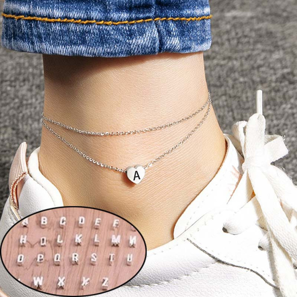 Heart, Fashion, ankletsforwomen, Jewelry